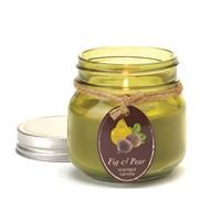 Picture of Fig  Pear Mason Jar Candle