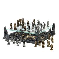 Picture of Two Tier Dragon Chess Set