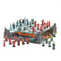 Picture of Fire River Dragon Chess Set