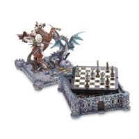 Picture of Dragon  Knight Chess Set