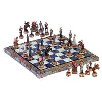 Picture of Civil War Chess Set
