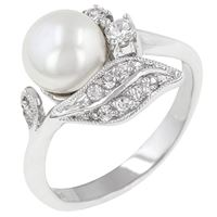 Picture of Antique Style Pearl Ring