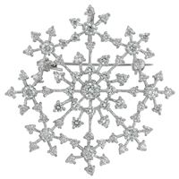 Picture of Delicate Snowflake Brooch