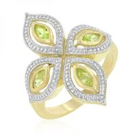 Picture of Apple Green Luxe Ring
