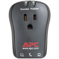 Picture of Apc 1outlet Travel Surge Protector With Telephone Protection