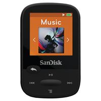 "Picture of Sandisk 8gb 1.44"" Clip Sport Mp3 Players Black"