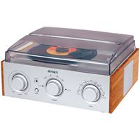 Picture of Jensen 3speed Stereo Turntable With Am And Fm Receiver Amp 2 Builtin Speakers