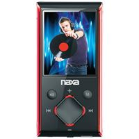 "Picture of Naxa 8gb 1.8"" Lcd Portable Media Players Red"