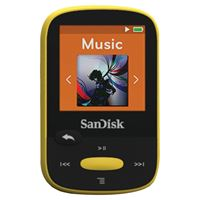 "Picture of Sandisk 8gb 1.44"" Clip Sport Mp3 Players Yellow"