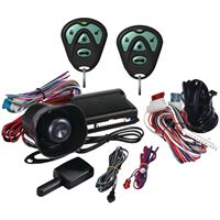 Picture of Avital 3100 1way Security System With Siren Amp Two 4button Remotes