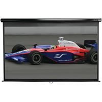 "Picture of Elite Screens 100"" Manual Pulldown B Series Projection Screen 169 Format 49"" X 87"""