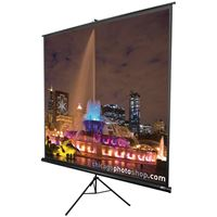 "Picture of Elite Screens Tripod Series Projection Screen 11 Format 119"" 84"" X 84"""