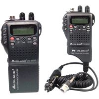Picture of Midland Handheld 40channel Cb Radio With Weather And Allhazard Monitor Amp Mobile Adapter