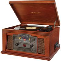 Picture of Crosley Radio Lancaster Musician Entertainment Centers Paprika