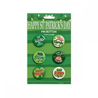 Picture of 6pk St Pat Buttons