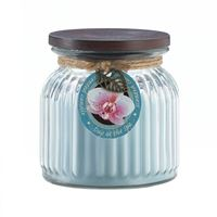 Picture of Day At Spa Ribbed Jar Candle