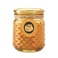 Picture of Caramel Pecan Hobnail Jar Candle