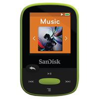 "Picture of Sandisk 8gb 1.44"" Clip Sport Mp3 Players Lime Green"