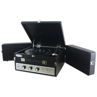 Picture of Pyle Pro Retrostyle Bluetooth Briefcase Turntable With Vinyl To Mp3 Recording