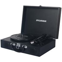 Picture of Sylvania Pc Encoding Usb Suitcase Turntable With Speaker