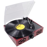 Picture of Pyle Pro Classic Vintage Retrostyle Turntable With Vinyl To Mp3 Recording